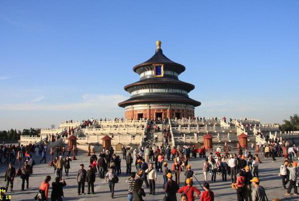 北京著名建筑物手绘